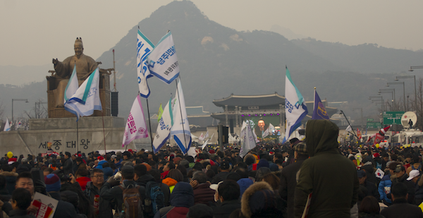 Demonstraties Korea
