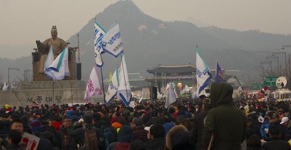 Demonstraties Korea